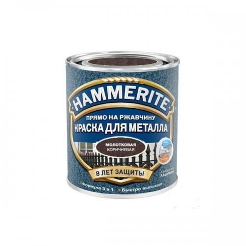 Коричневая молотковая Алкидная краска для металлических поверхностей Hammerite
