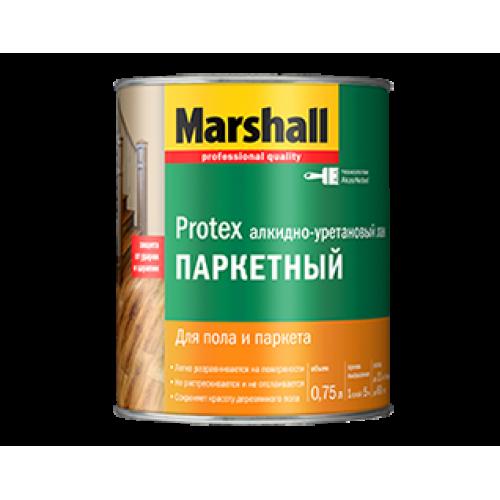 """Паркетный полуматовый лак """"Marshal Protex"""""""