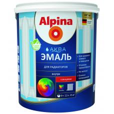 Alpina Аква Эмаль для радиаторов
