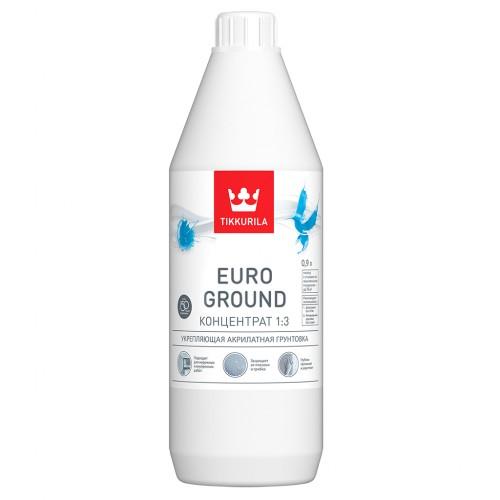 Euro Ground / Primer укрепляющая акрилатная грунтовка