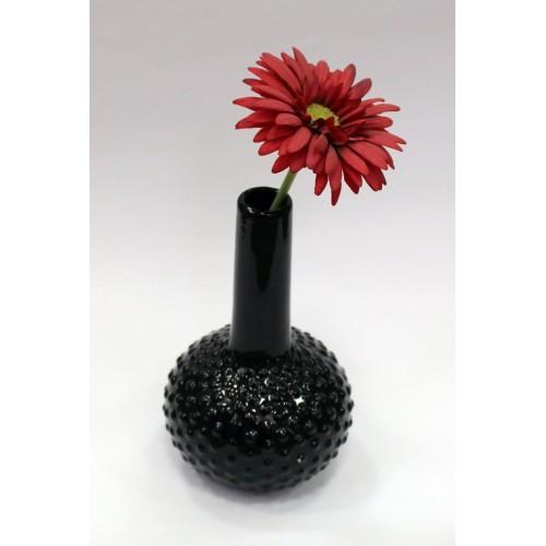 Декор ваза 15.2X15X25см/черная