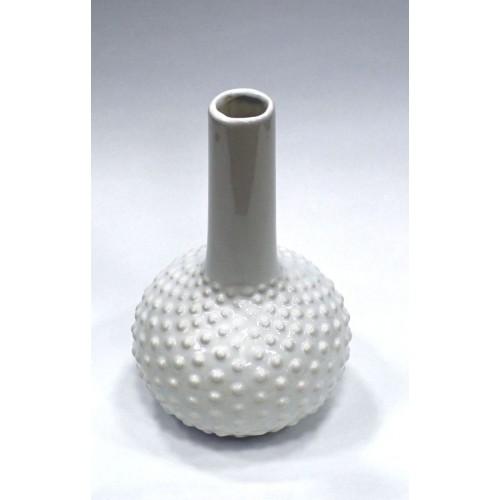 Декор ваза 15.2X15X25см/белая