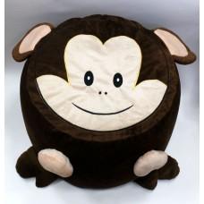 Пуфик детский 30х35см/обезьянка