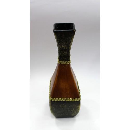 декоративная ваза 10X10X33