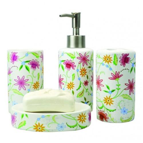 Ванные аксессуары 4пр.керамика (*12)