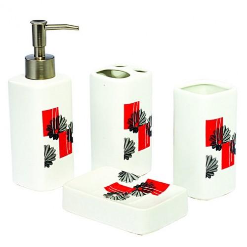 Ванные аксессуары 4пр.керамика